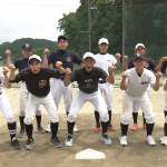 スポーツ×ヒューマン「高校生」/福島平工軟式野球部①全部員集合写真